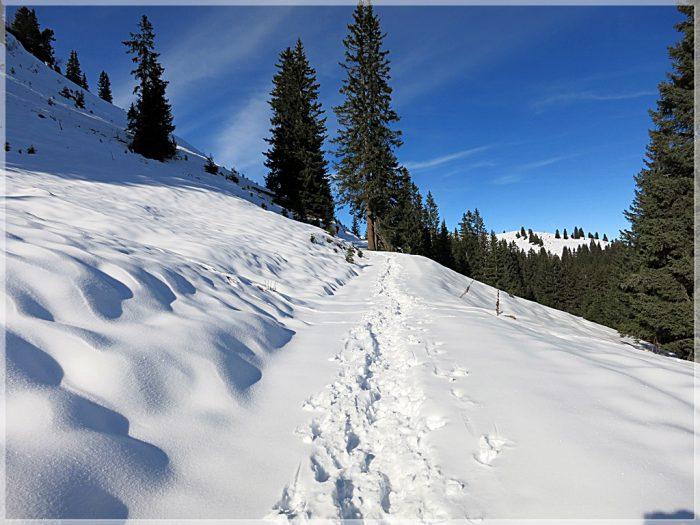 Galtjoch, Lechtaler Alpen, Winter, Schneeschuhtour, Winterwandern