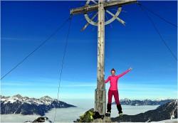 Galtjoch 2.190m Wintertour – Lechtaler Alpen