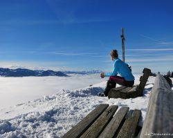 Salmaser Höhe 1.254m – zeigt sich ganz grooooß