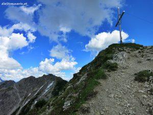 Gipfel Bschießer 2.000m