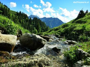 Zipfelsbach Wasserfall – Gipfel Bschießer 2.000m