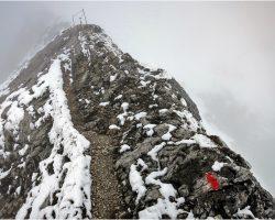 benebelte Hochplatte 2.082m