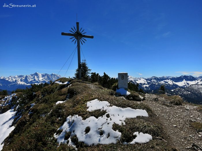 Ochsenälpelekopf 1.905m – Kreuzkopf 1.909m mit Video-Gipfelschau