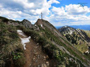 Bergwanderung Rindalphorn 1.821m Hochgrat 1.834m