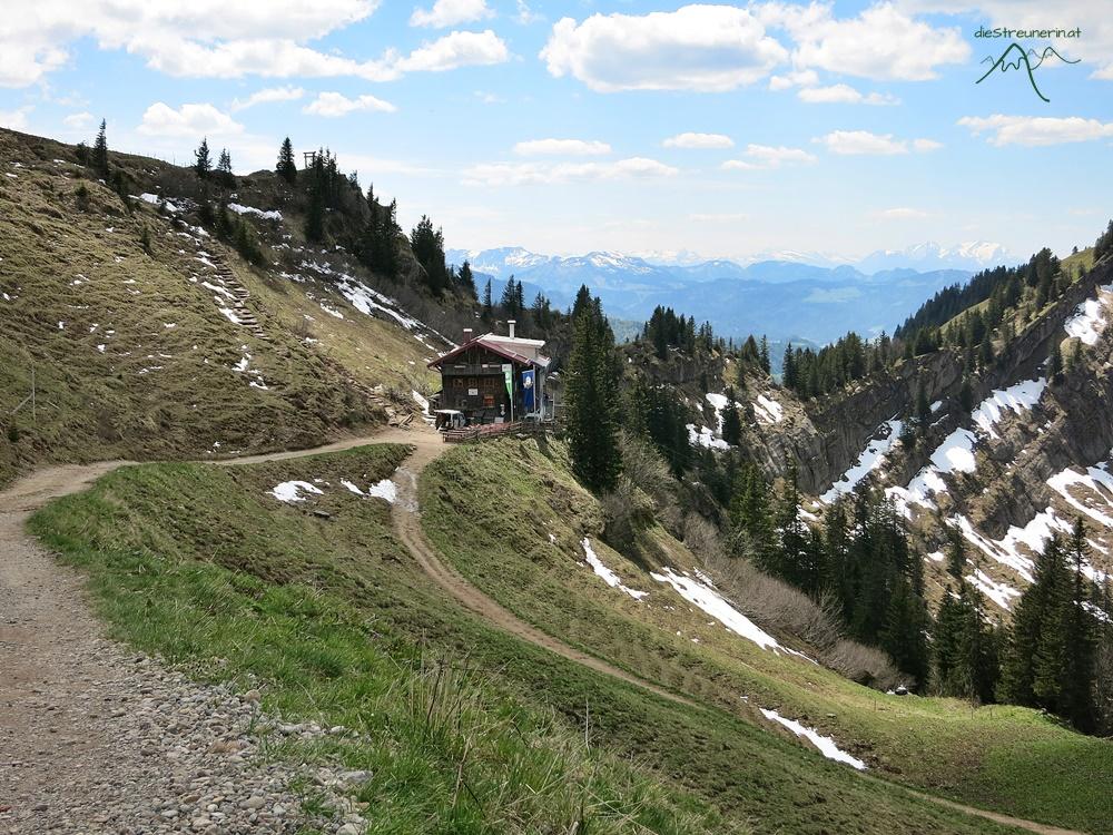 Allgäuer Alpen, Rindalphorn, Hochgrat, Nagelfluhkette, Wander, Bergwandern