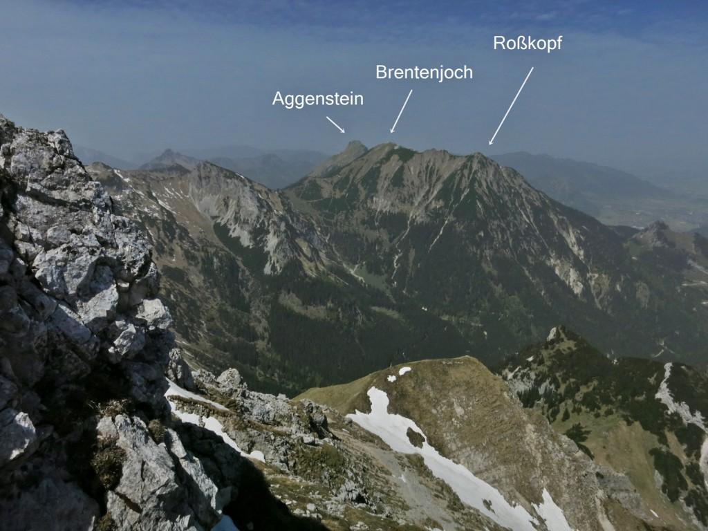 Große Schlicke, Tannheimer Berge