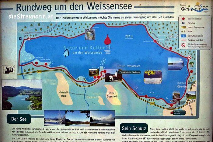 Weißensee, Ostallgäu, Bergsee