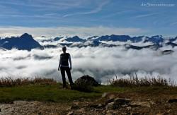 über den Wolken… is der Hohe Ifen 2.230m Bergtour