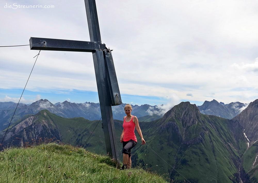 die leise Peischelspitze 2.424m Lechtaler Alpen