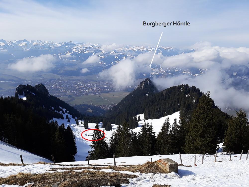 Grünten, Wanderung, Allgäu, Jägerdenkmal, Grüntenhütte