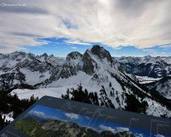 Schneeschuhwanderung – Breitenberg vis-à-vis Aggenstein