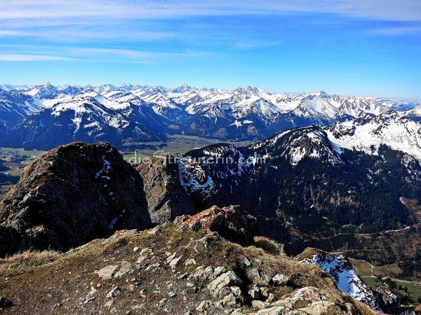 Aggenstein, Tannheimer Berge, Bad Kissinger Hütte