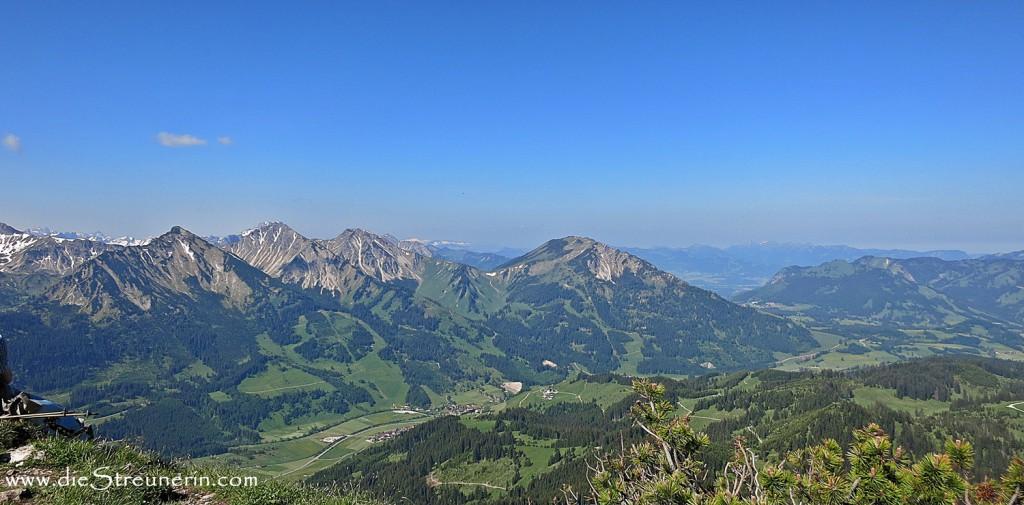 Einstein, Tannheimer Berge
