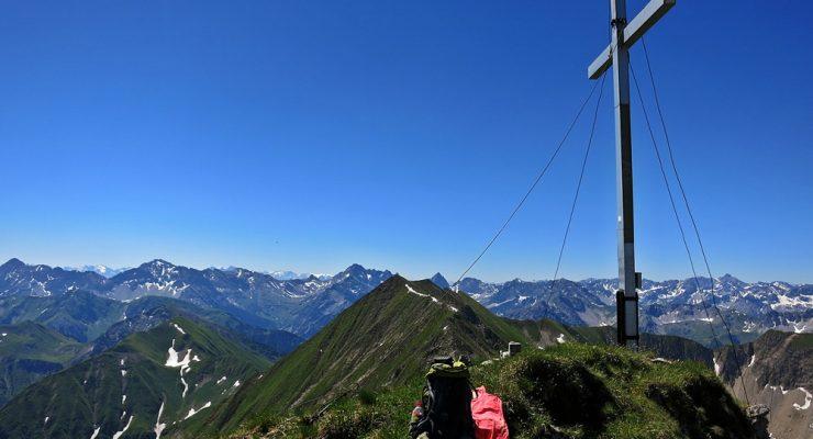Finde den roten Punkt – Elmer Kreuzspitze 2.480m