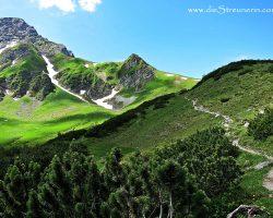 Amatschonjoch 2.028m (Tag 2 im Brandner Tal)