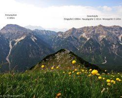 Geierköpfe Westgipfel 2.143m