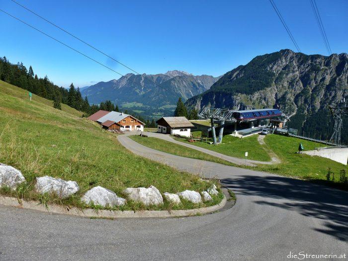 Bergtour Fellhorn, Allgäur Alpen, Schlappoltkopf