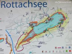 Rottachsee, Oberallgäu, Seeumrundung