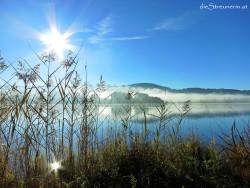 Bunter Herbst am Rottachsee im Allgäu