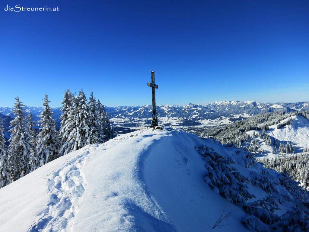 Allgäuer Alpen, Spieser, Oberjoch, Schneeschuhwanderung, Skitour
