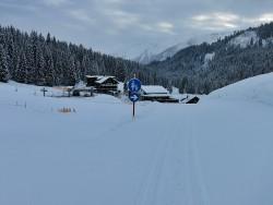 Kleinwalsertal, Schneeschuhtour, Pellingerkopf, Allgäuer Alpen, Hählekopf, Schwarzwasserhütte
