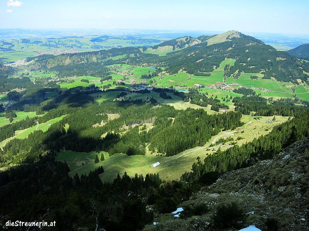 Zinken Sorgschrofen, Unterjoch, Allgäu, Bergtour, Wandern