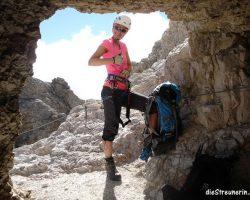Via Ferrata (Klettersteig) Ivano Dibona Cristallogruppe  [Dolomiten]
