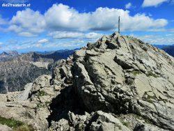 Klimmspitze 2.464m Hornbachkette Bergtour