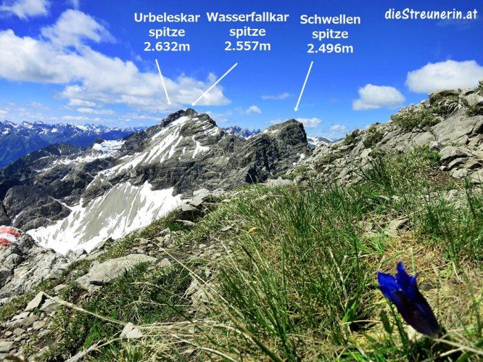Klimmspitze Hornbachkette Allgäuer Alpen