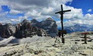 Piccolo Lagazuoi 2.778m und Sasso di Stria [Hexenstein] 2.477m