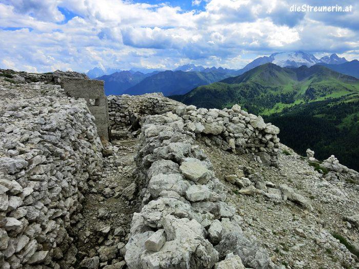 Lagazuoi Hexenstein Falzaregopass Sextener Dolomiten