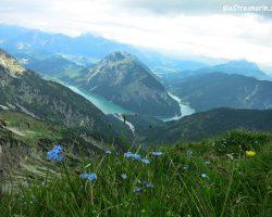 Pitzenegg 2.174m am Danielgrat Ammergauer Alpen