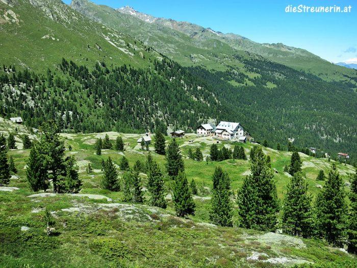 Martelltal, Südtirol, Vordere Rotspitze