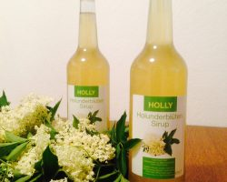 Holly – der Holunderblütensirup