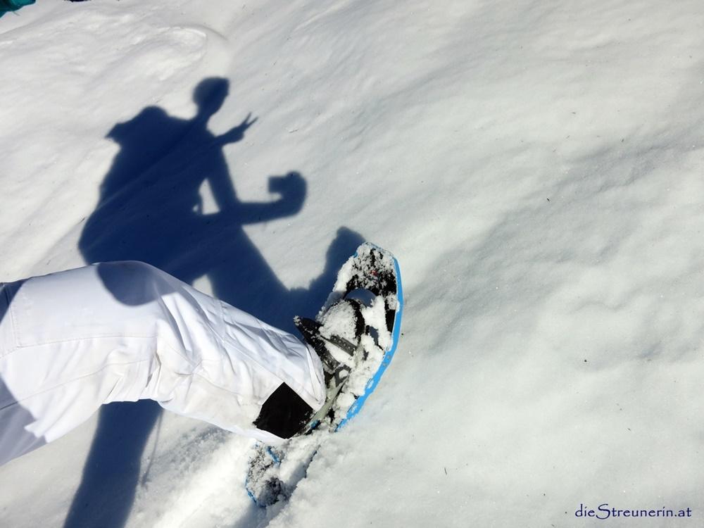 Schneeschuhwandern – Technik – sicher und effektiv durch den Schnee