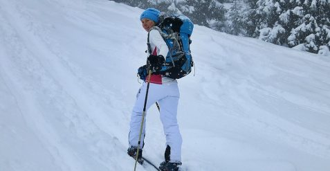 Skitour versus Schneeschuhtour