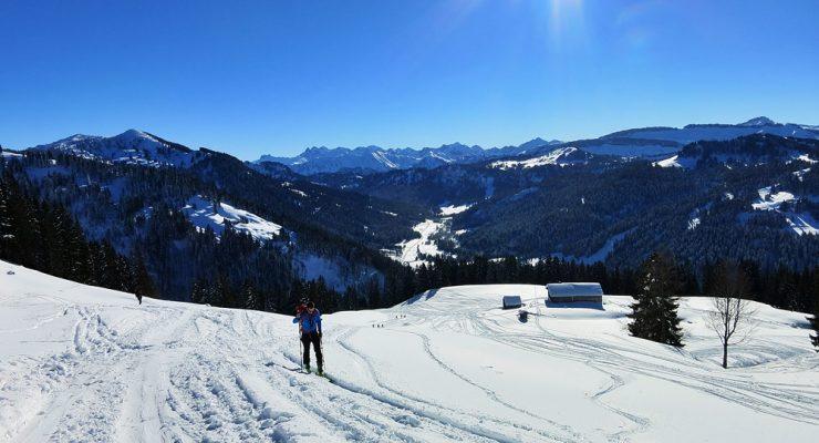 Skitour zum Heidenkopf 1.685m