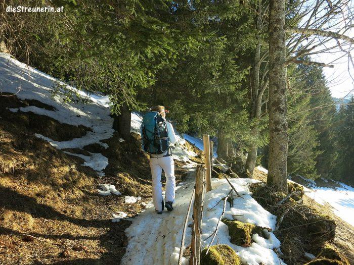 Krinnenspitze, Allgäuer Alpen, Schneeschuhtour, Winterwanderung