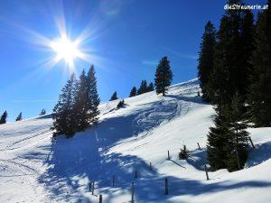 Schneeschuhtour zum Edelsberg 1.624m Tannheimer Berge