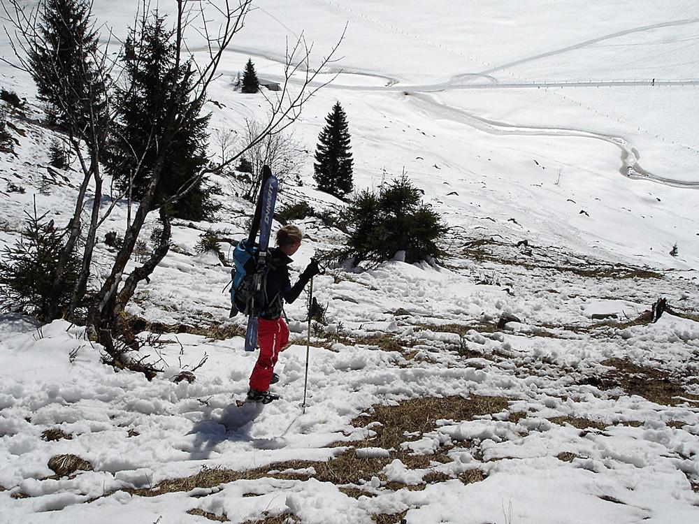Kleinwalsertal, Skitour, Pellingerkopf, Allgäuer Alpen, Hählekopf, Schwarzwasserhütte