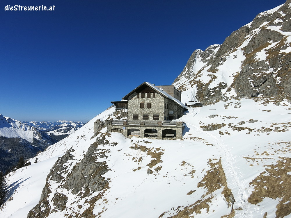 Schneeschuhtour Bad Kissinger Hütte im Tannheimer Tal
