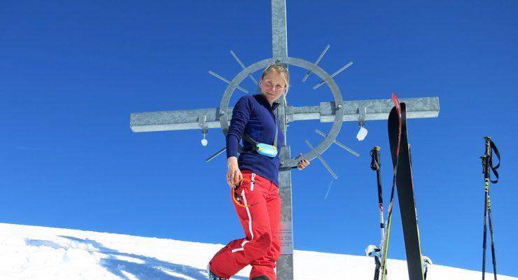 Skitouren Wochenende Tag 1 Grünhorn Kleinwalsertal