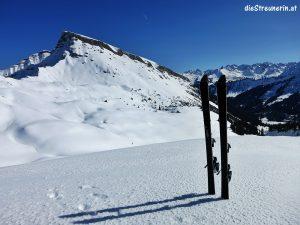 Skitouren Wochenende Tag 2 Pellinger Kopf Kleinwalsertal