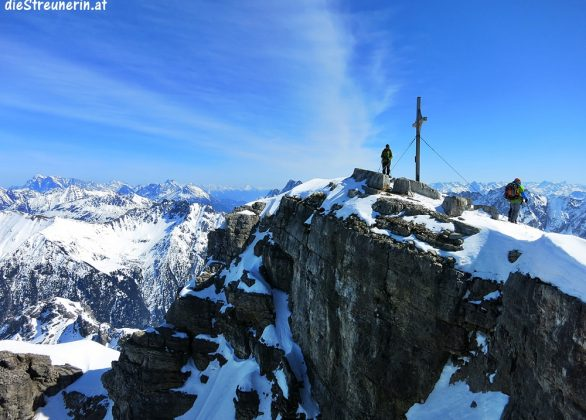 Skitour Namloser Wetterspitze 2.553m