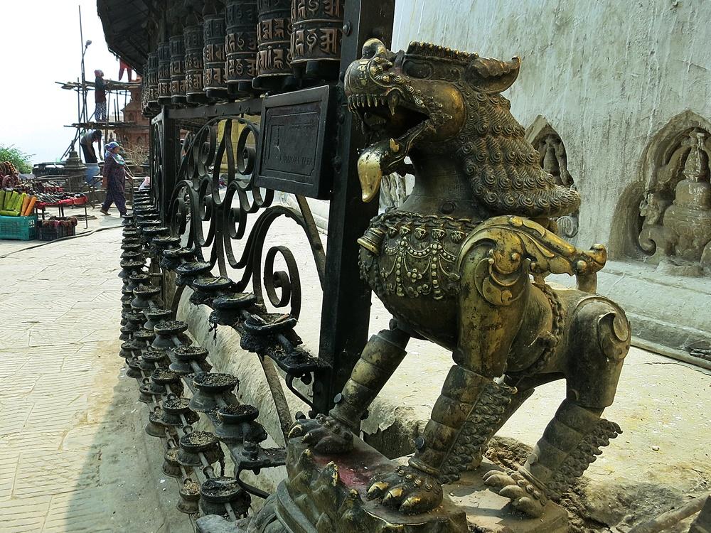 Swayambhunath Affentempel Nepal Kathmandu
