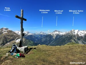Hahnleskopf 2.210m Lechtal