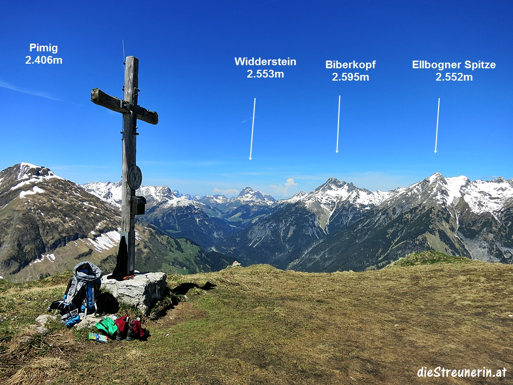 Hahnleskopf, Lechtaler Alpen