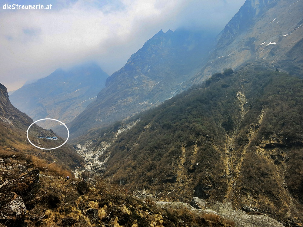 Nepal Trekking Annapurna. Deurali