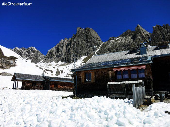 Hermann-von-Barth-Hütte, Wanderung, Allgäuer Alpen, Lechtal,