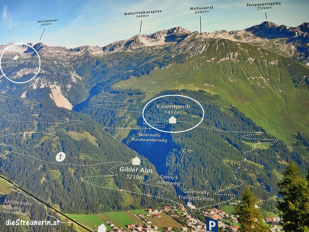 Hermann-von-Barth-Hütte, Lechtaler Alpen